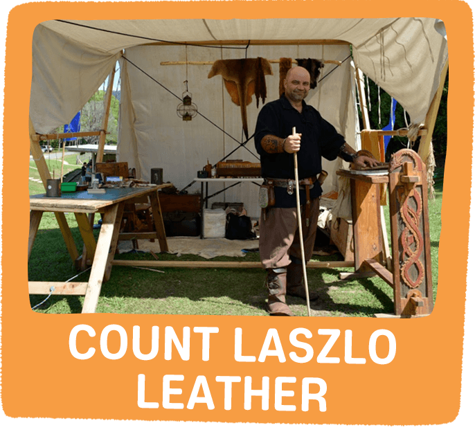 Count Laszlo Leather