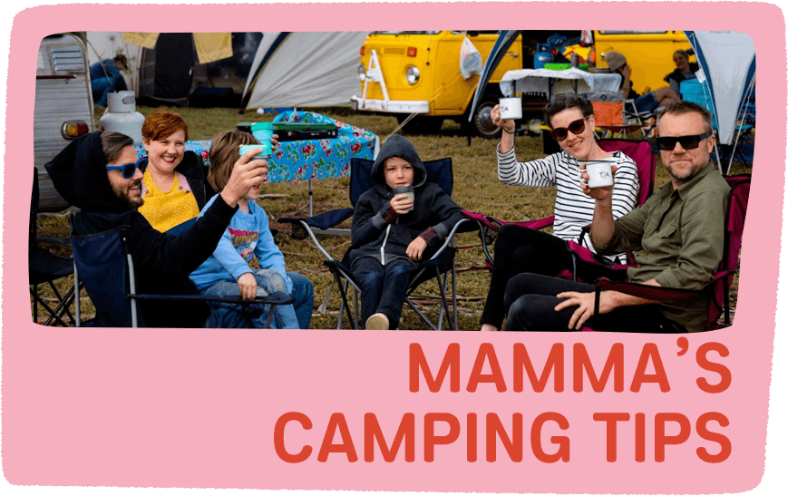 mamma's camping tips