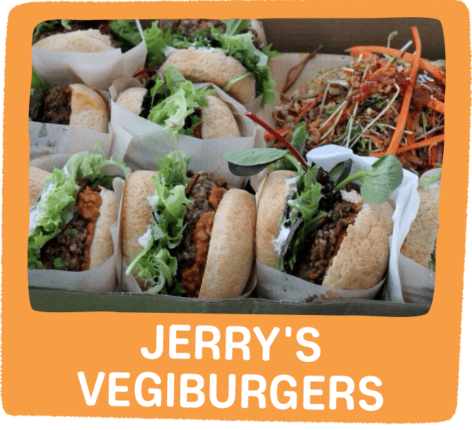 Jerry's Vegie Burgers