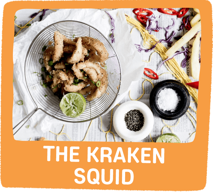 the kraken squid