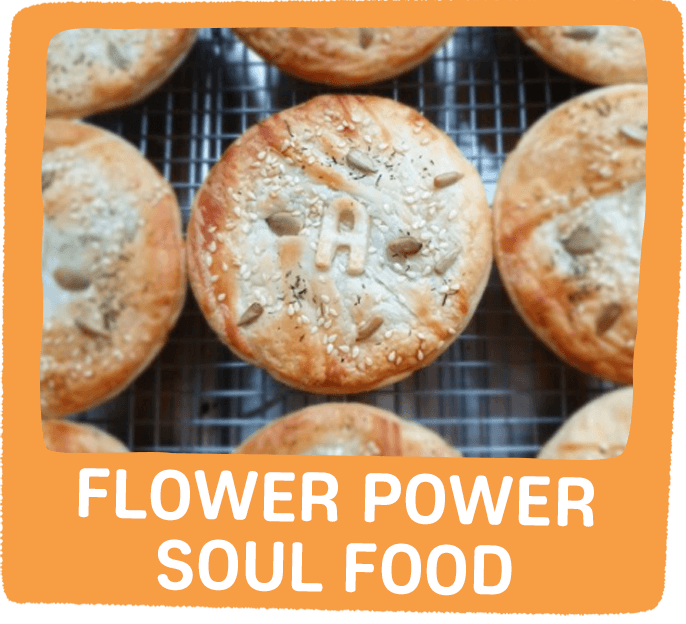 flower power soul food