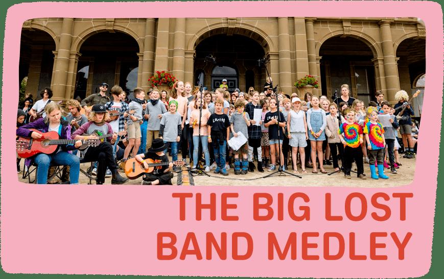 the big lost band medley