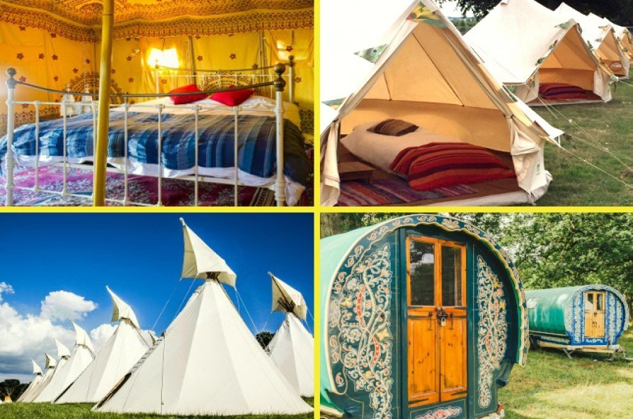 Boutique Camping image