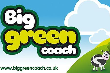Big Green Coach Travel from London image