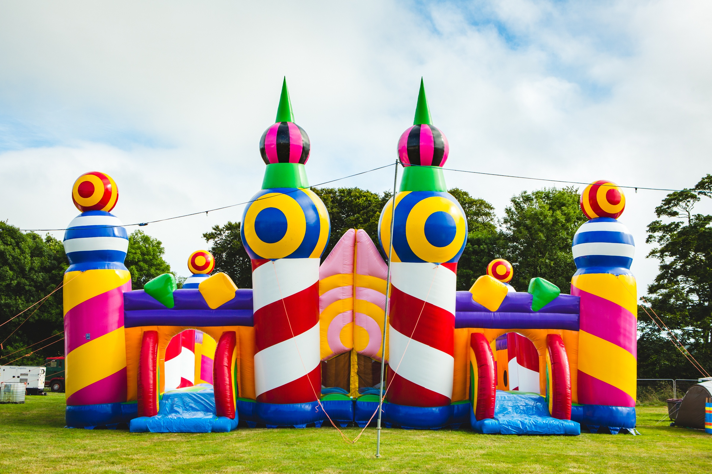 The World's Biggest Bouncy Castle image