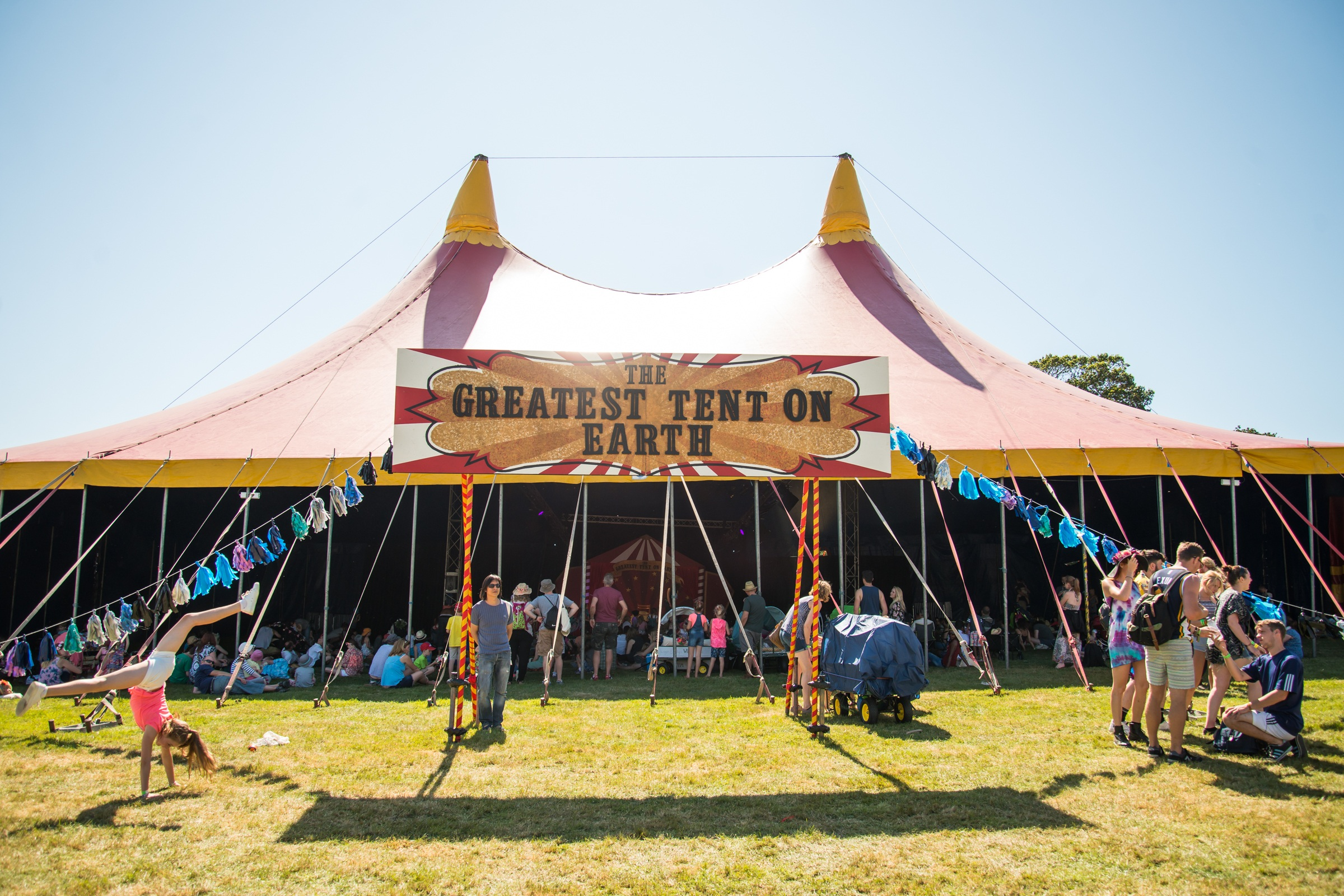 The Greatest Tent on Earth! image