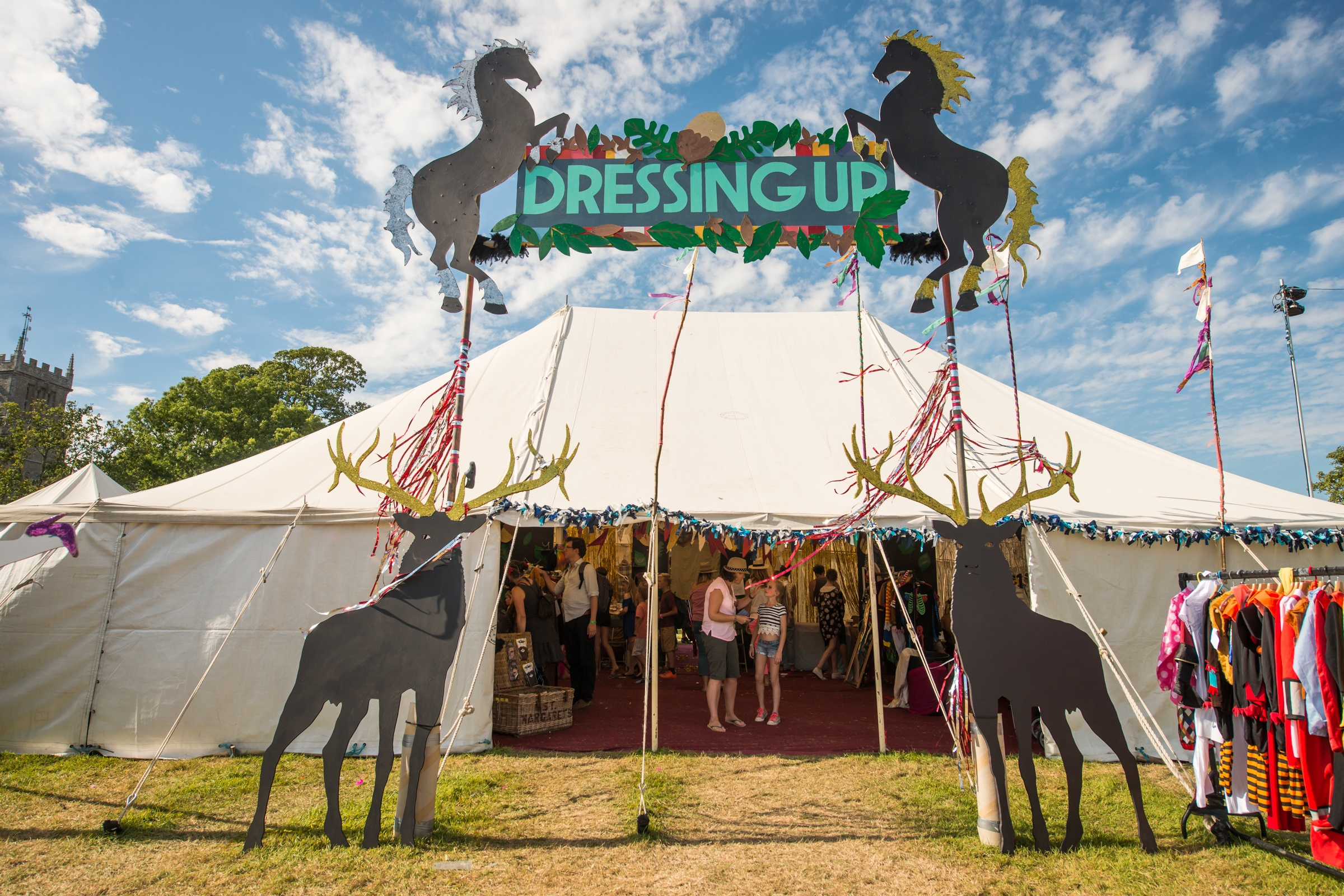 Dressing Up Tent image