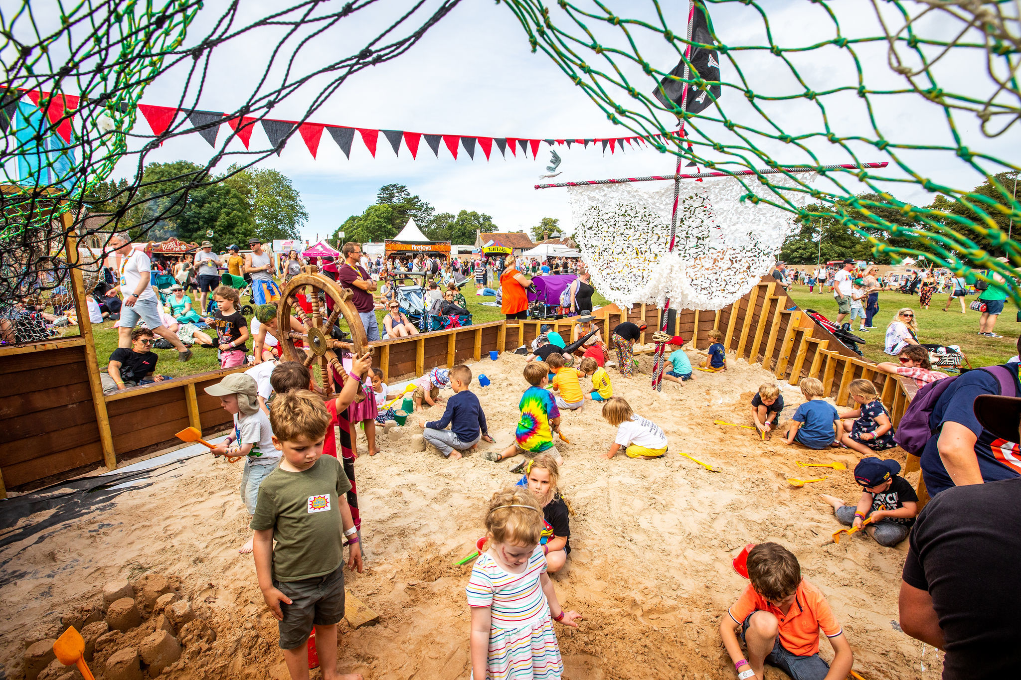 Pirate Sandpit image