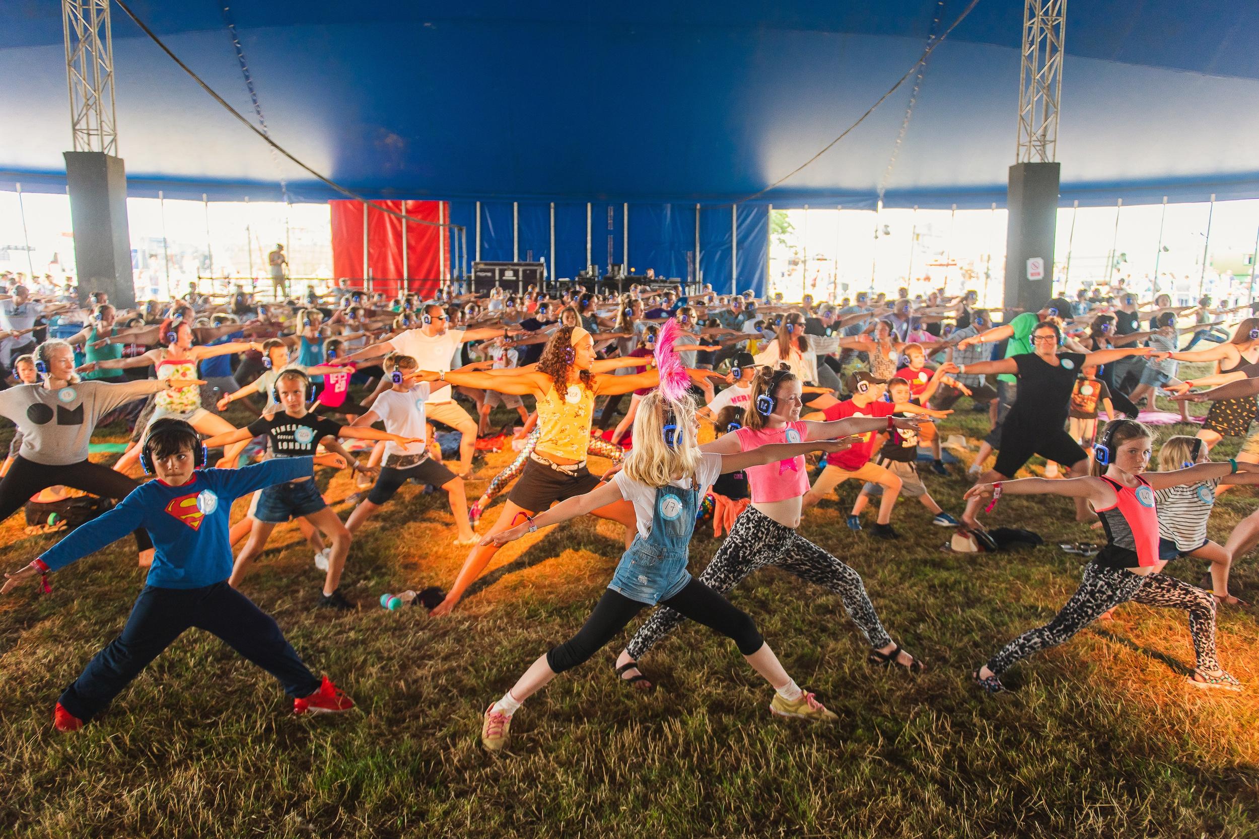 Silent Yoga image