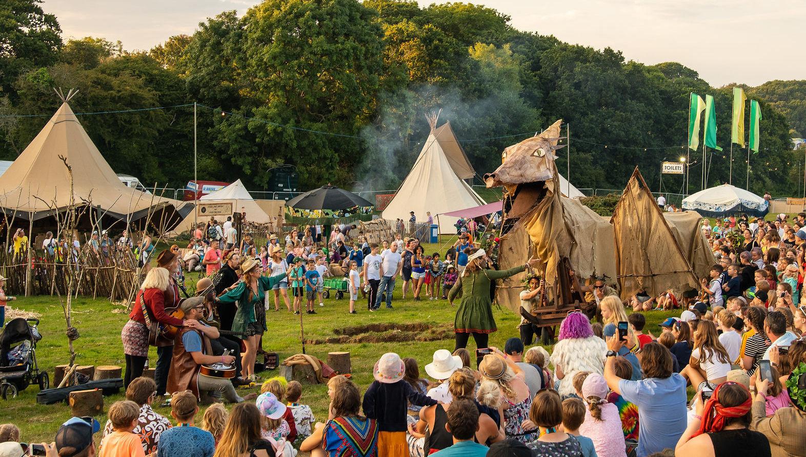 Wild Tribe Teepee Camp image