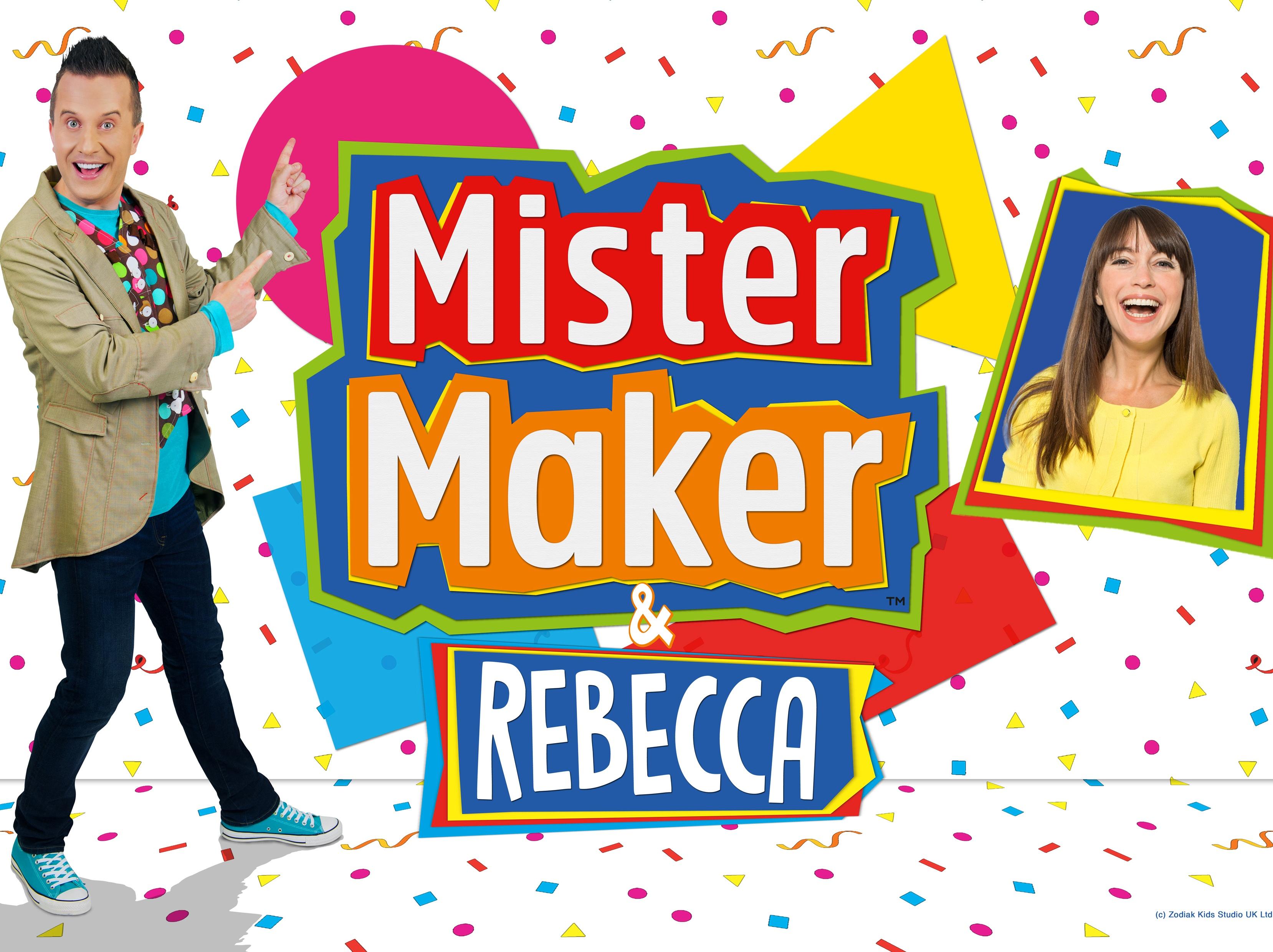 Mister Maker & Rebecca Keatley image