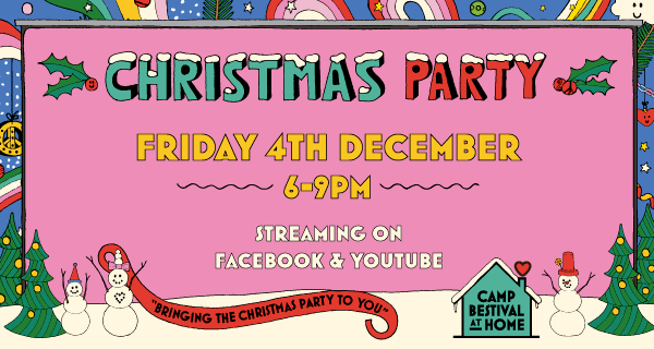 Camp Bestival's Christmas Party image