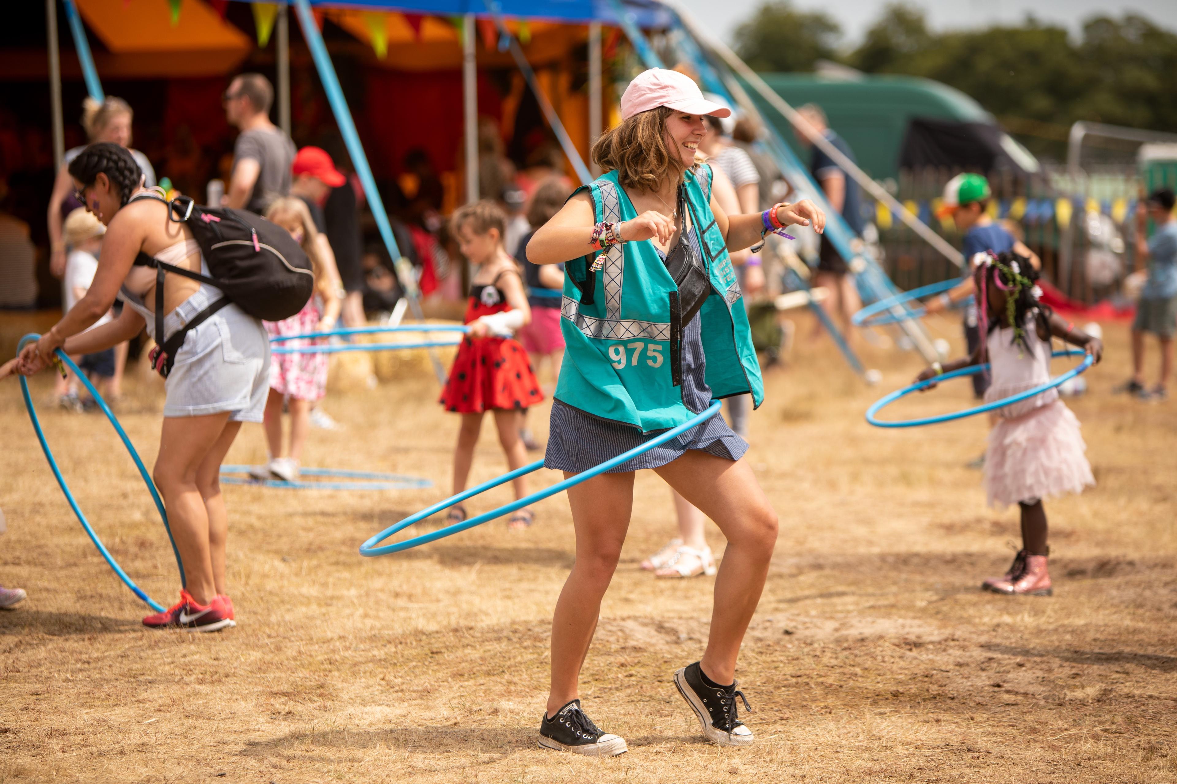 Volunteer at Camp Bestival image