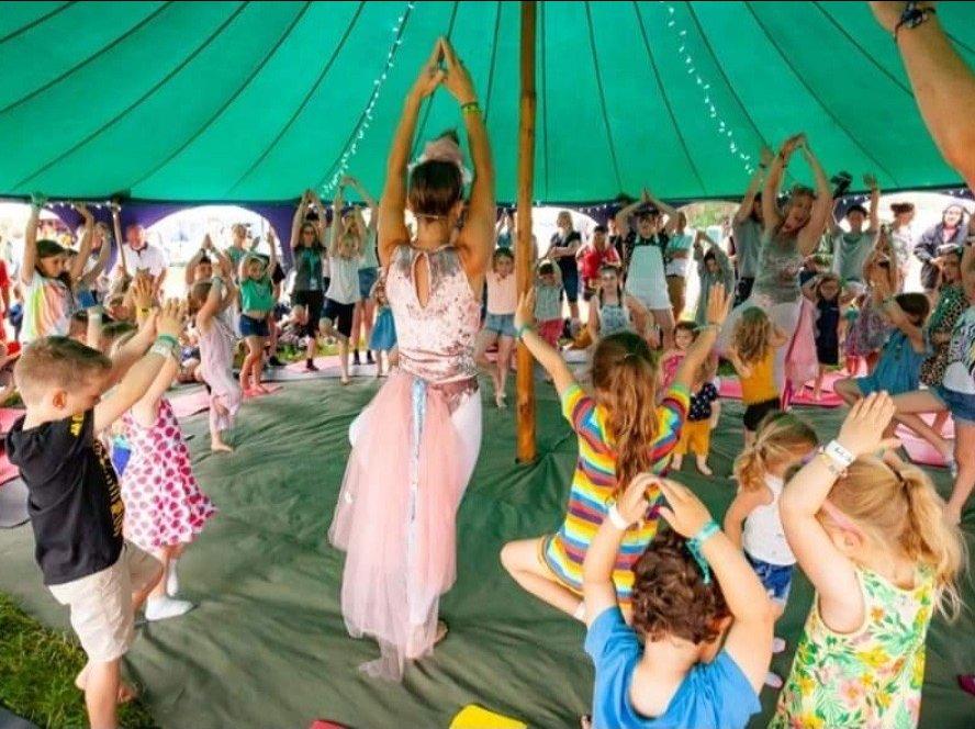 Inner Sunshine: Family Yoga & Wellbeing image