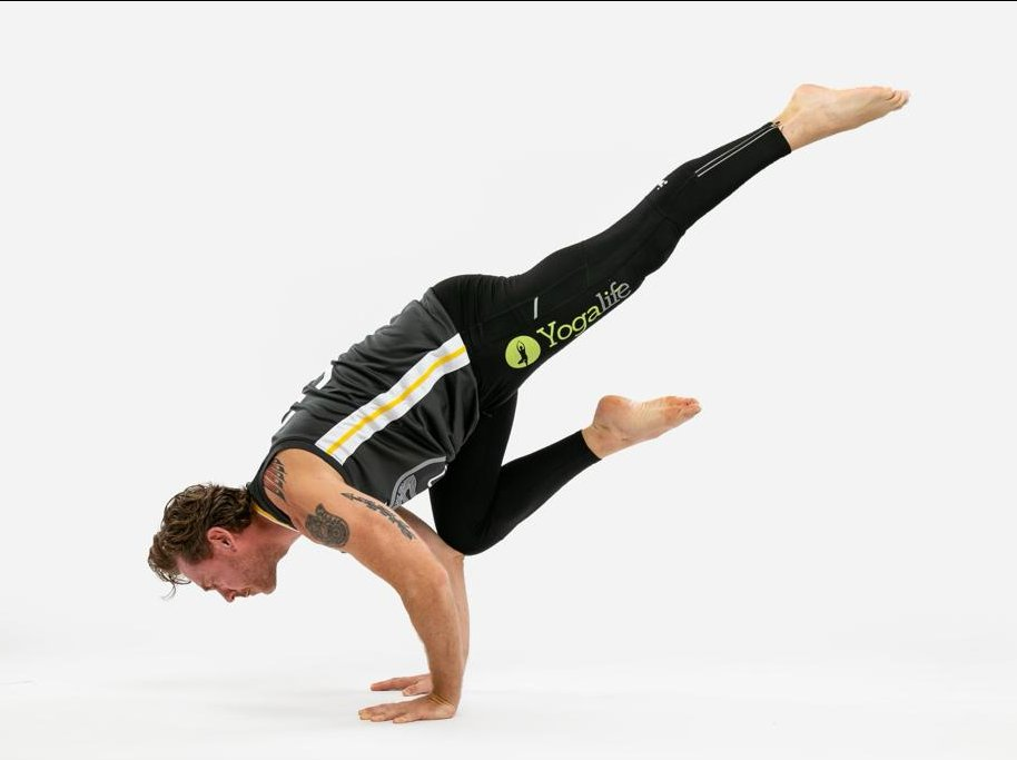 Vinyasa Flow yoga with Gareth Caple powered with Wim Hoff breath image