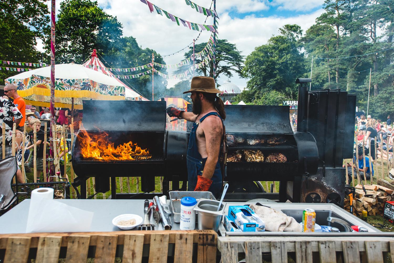 DJ BBQ Fire Feast image