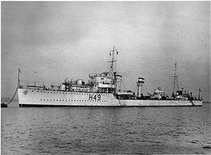 Warwick Deeping, HMS image