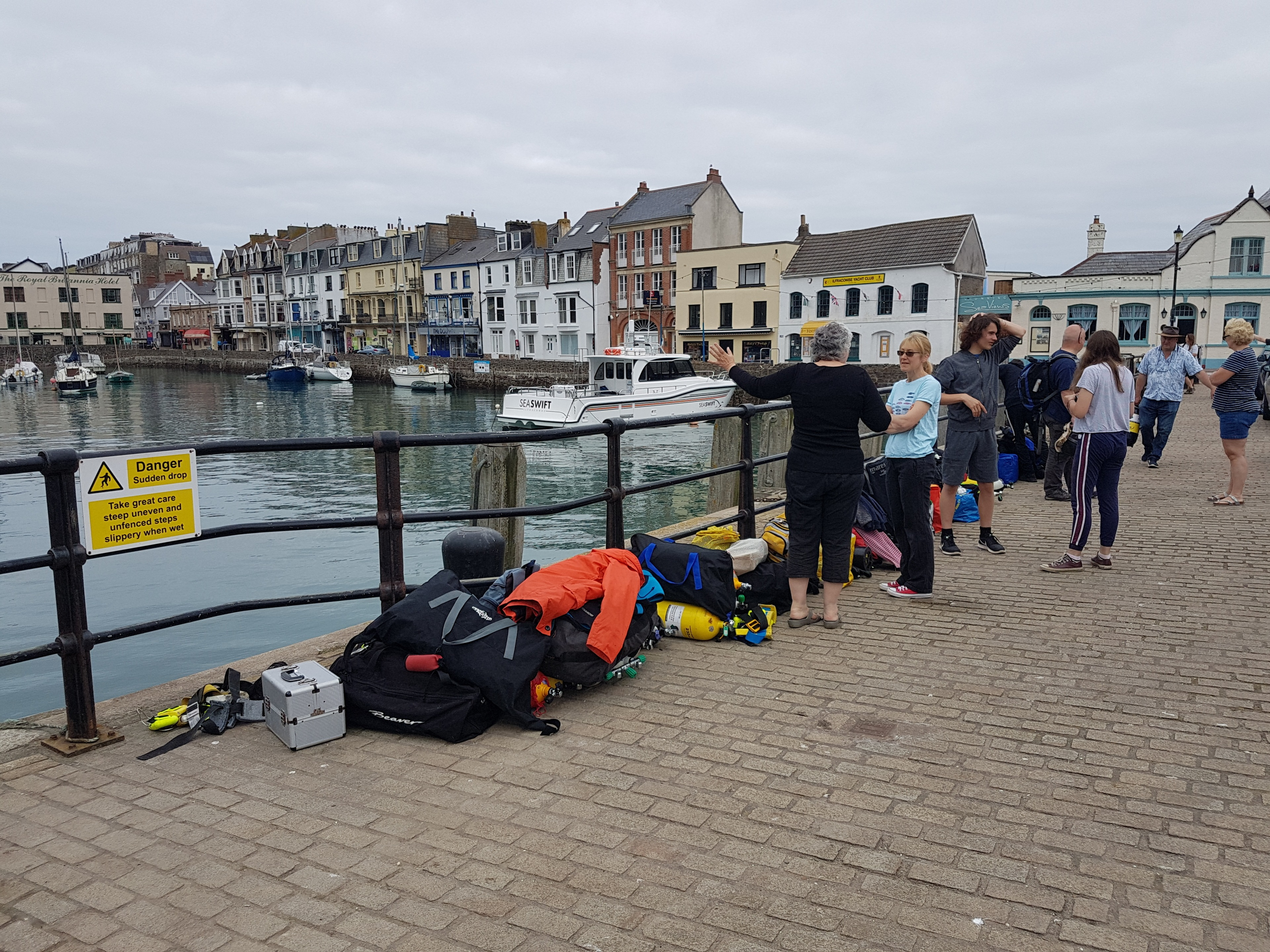 Calshot Divers visit Lundy image