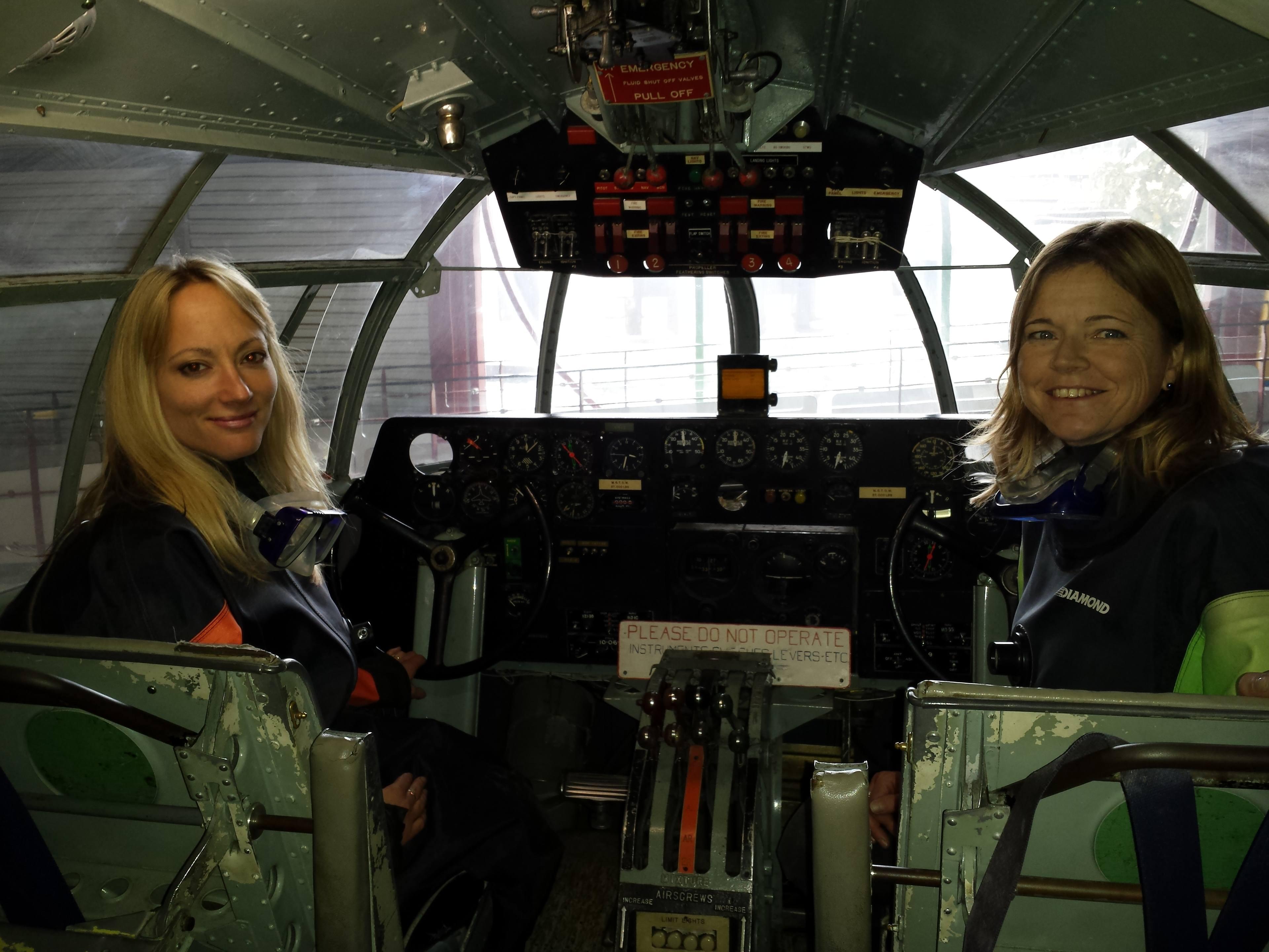 1DE1A732-C9AE-Lizzie Hamilton-Ross and Helen Pugh (Solent Sky).jpg