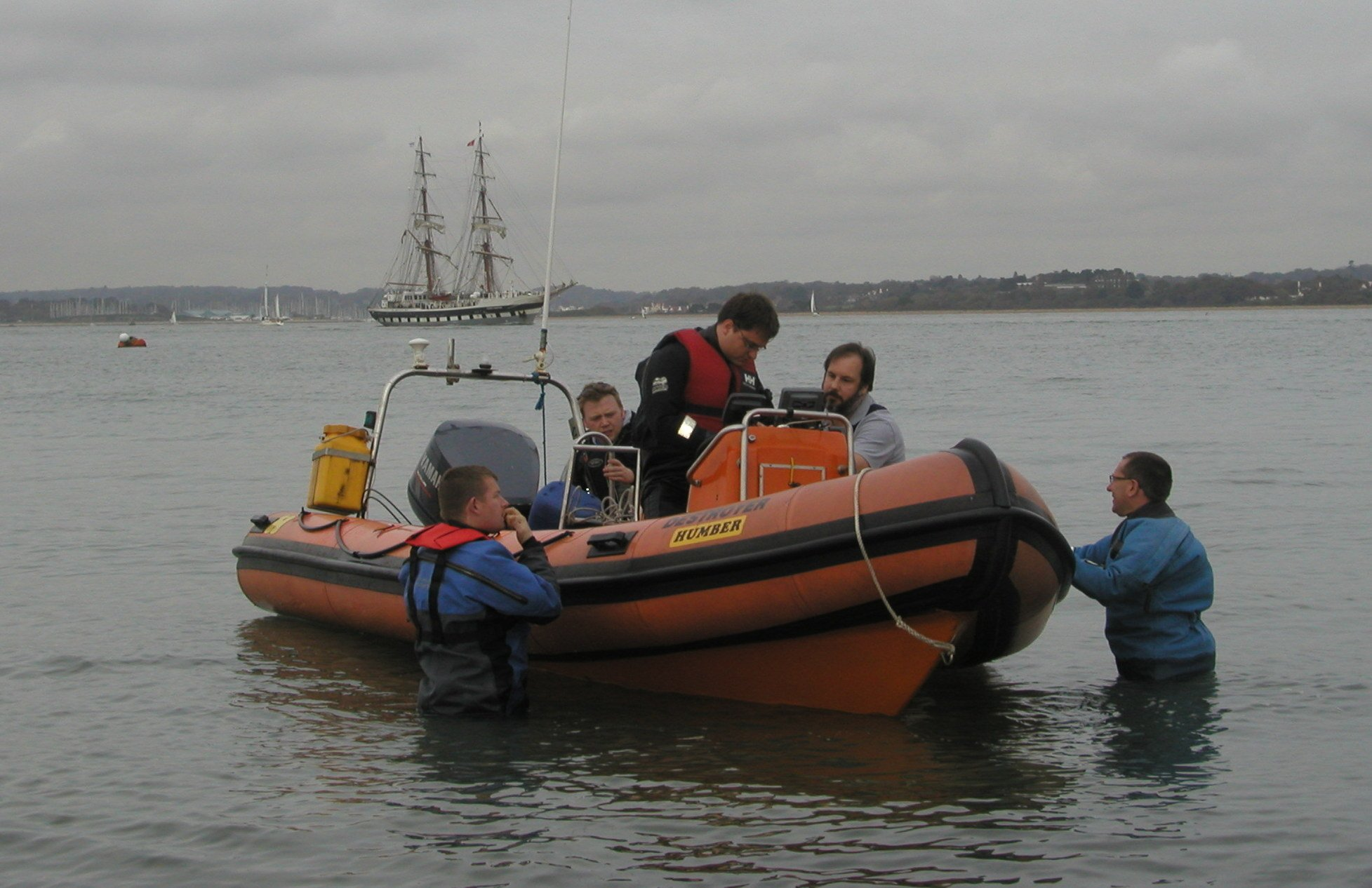 CSAC Boat Handling Course image