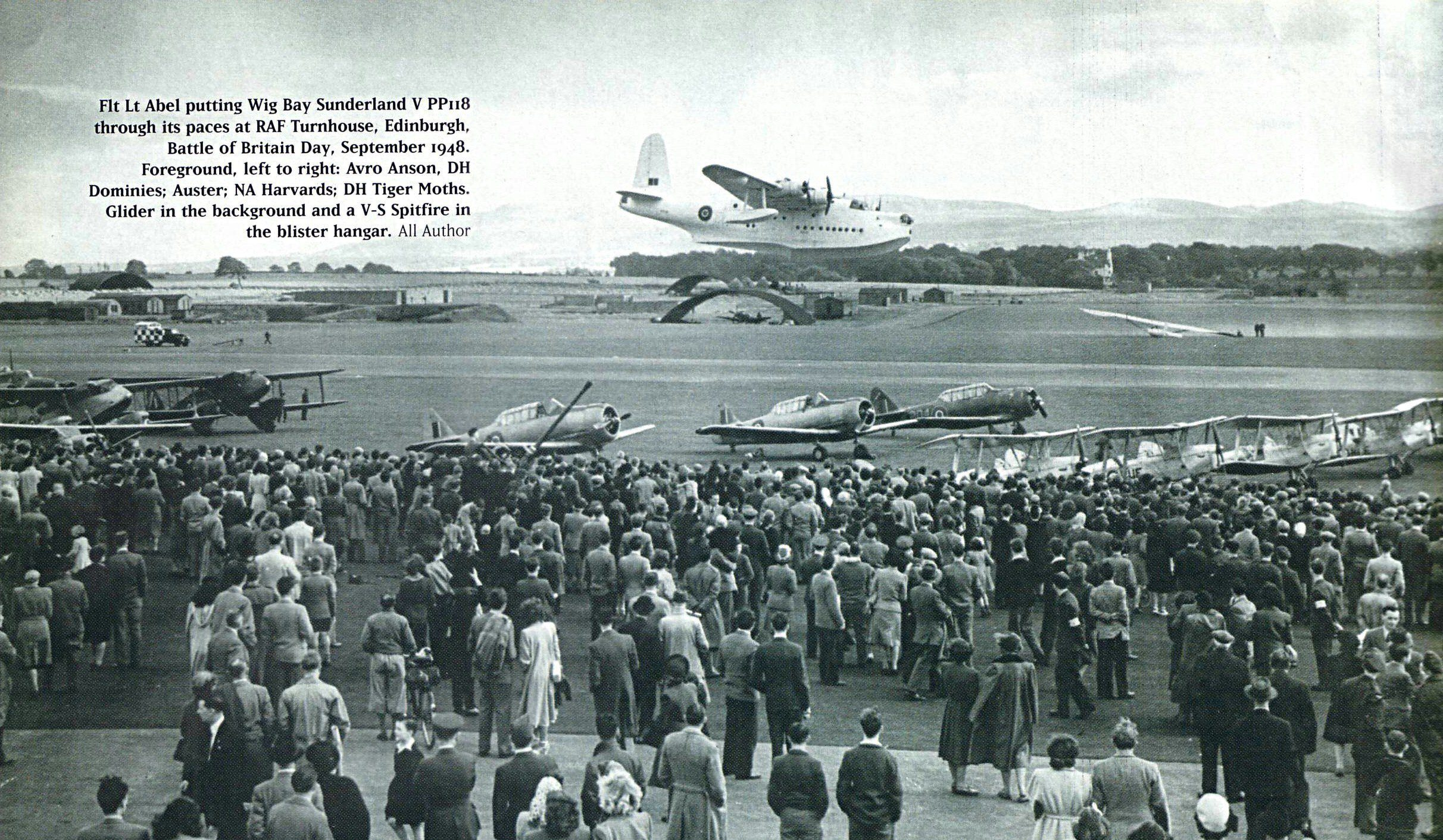 PP118 doing an Air Display in September 1948