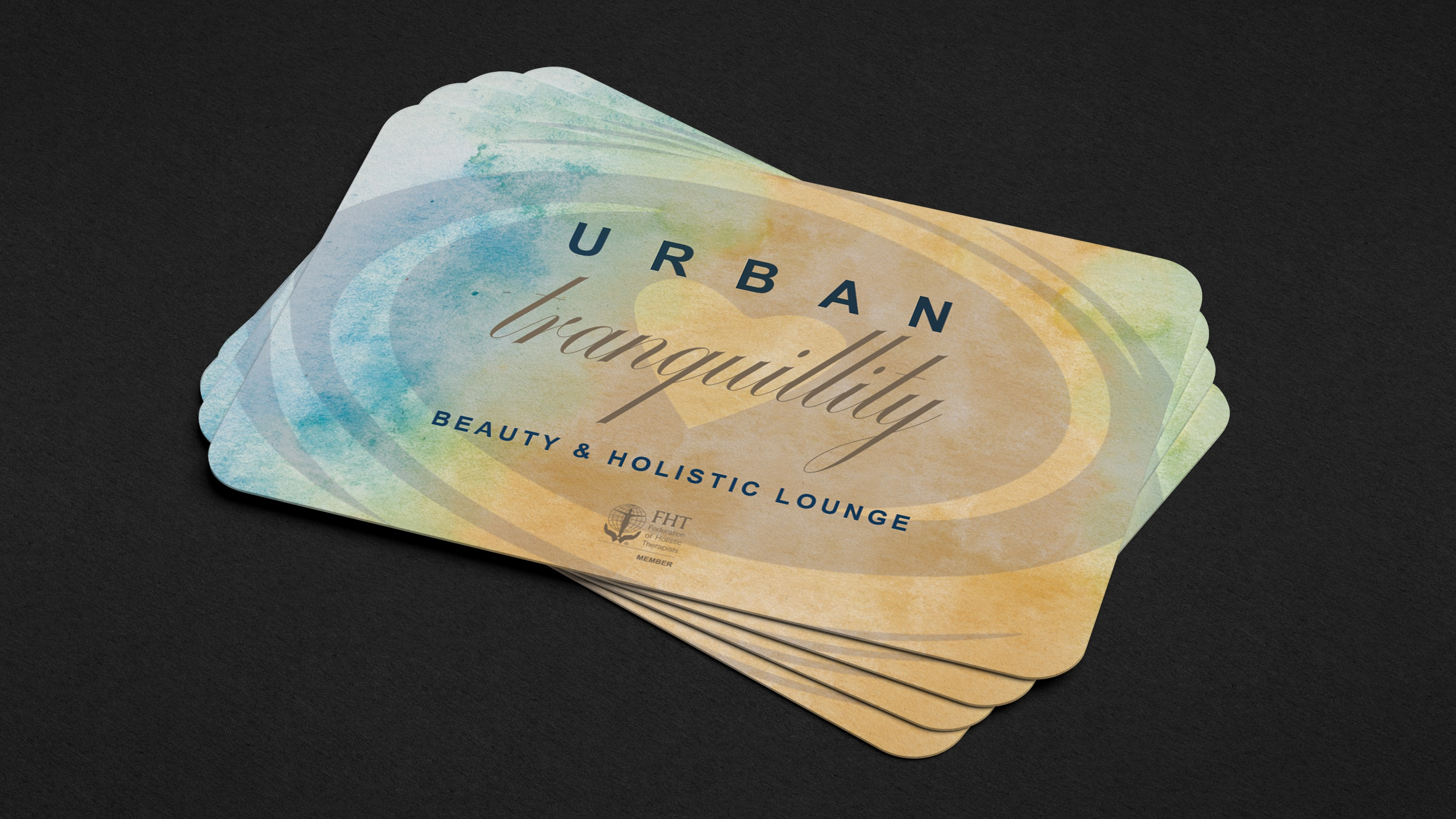 Urban Tranquility business cards