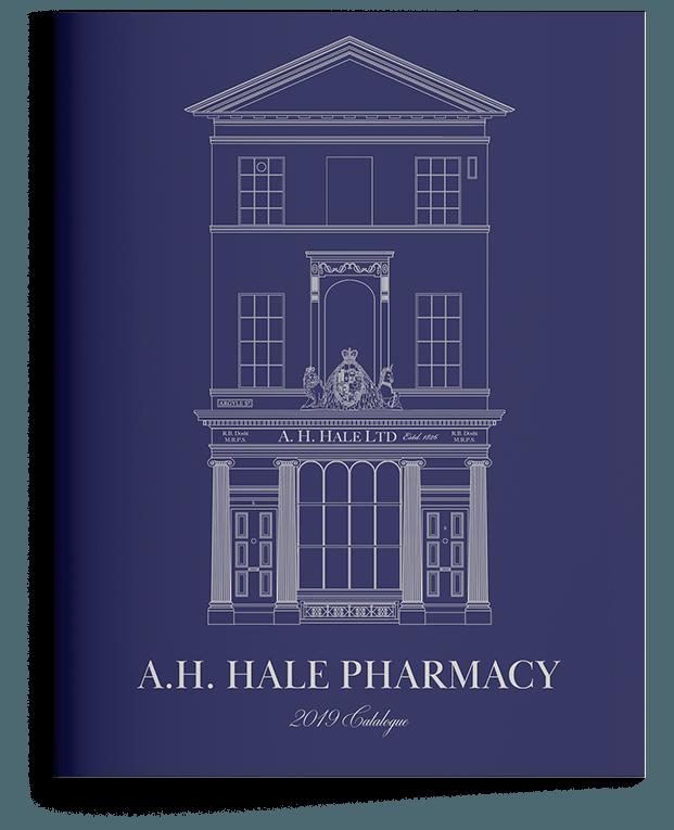 Blue catalogue for Hale's Pharmacy