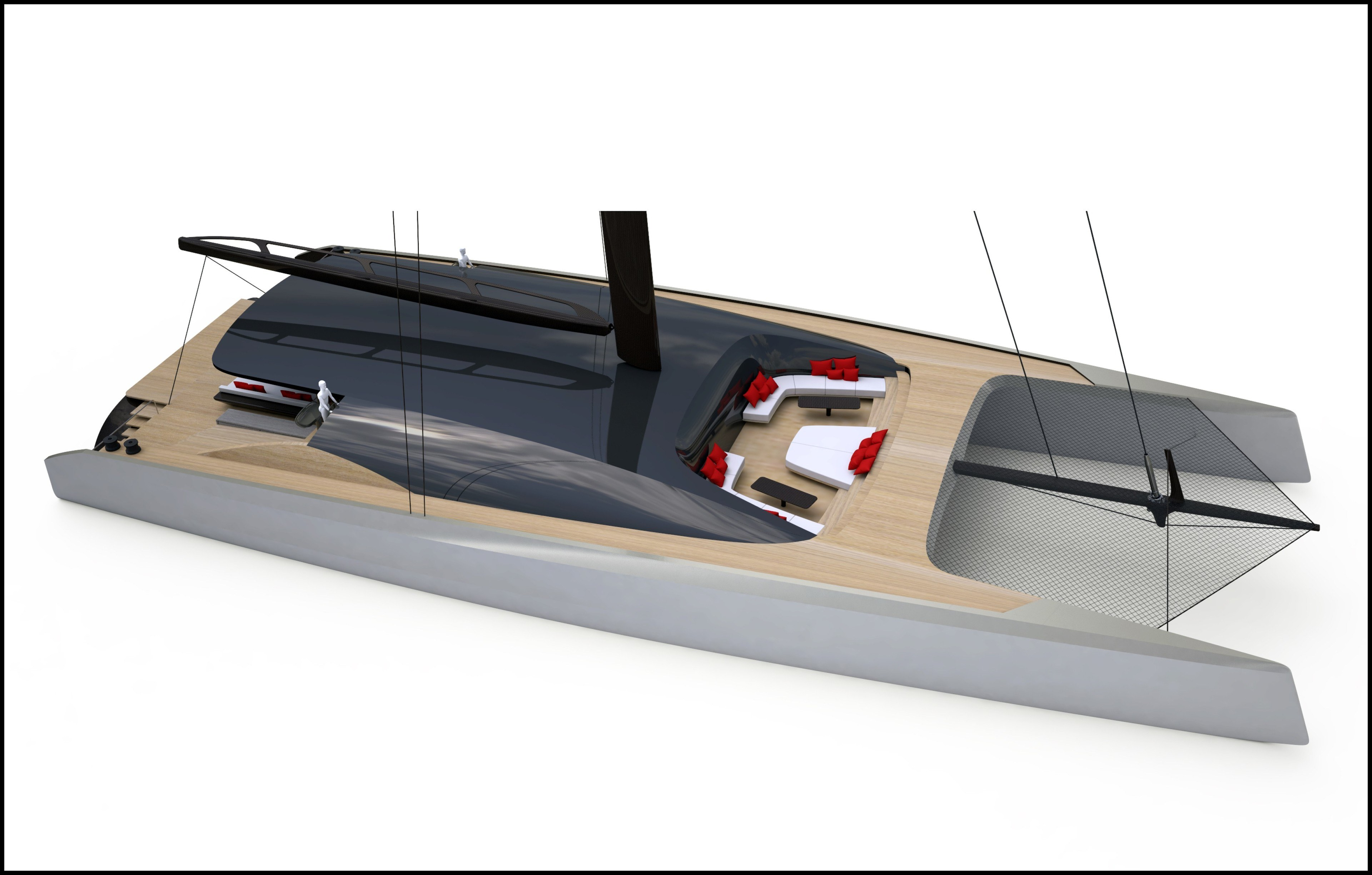 BlackCat Superyachts 35m Catamaran