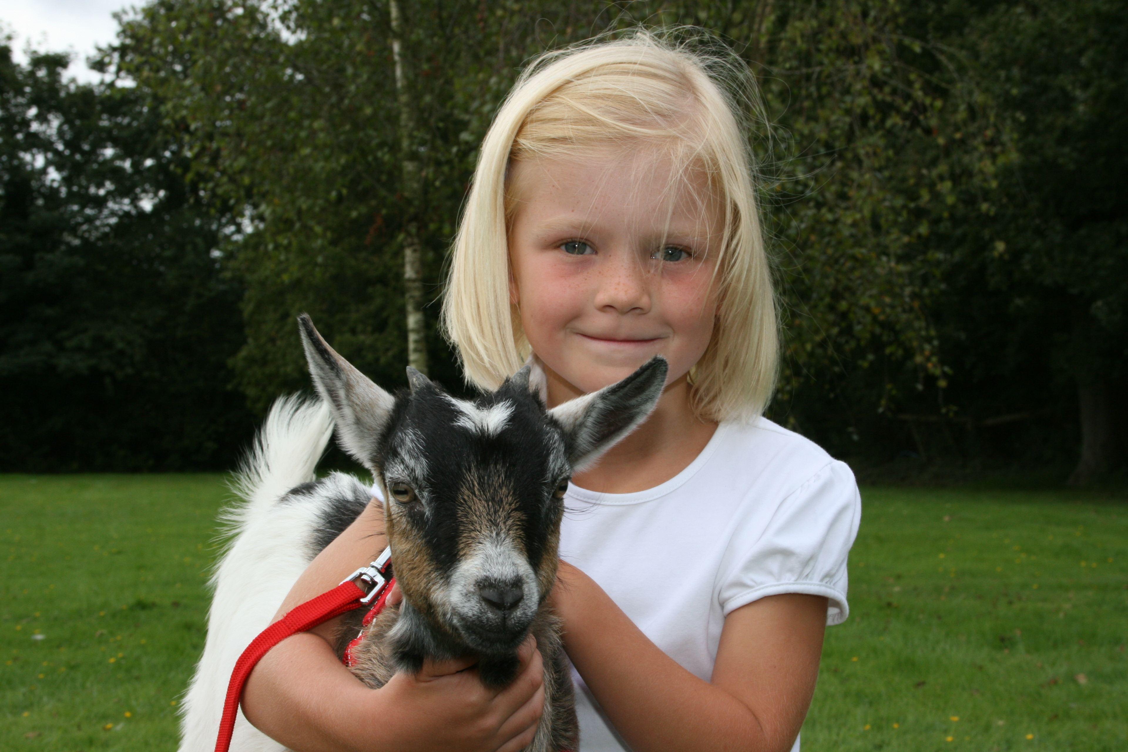 Girl and goat.JPG