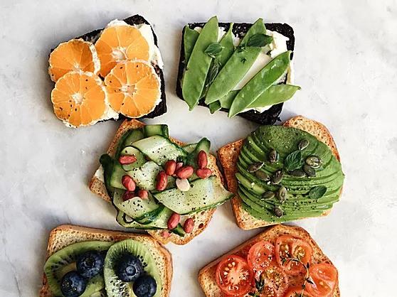 Avocado and feta smash on toast