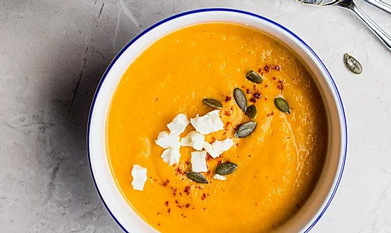 A simple roast squash soup
