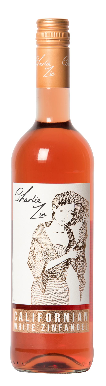 Charlie Zin Zinfandel Rose 75cl