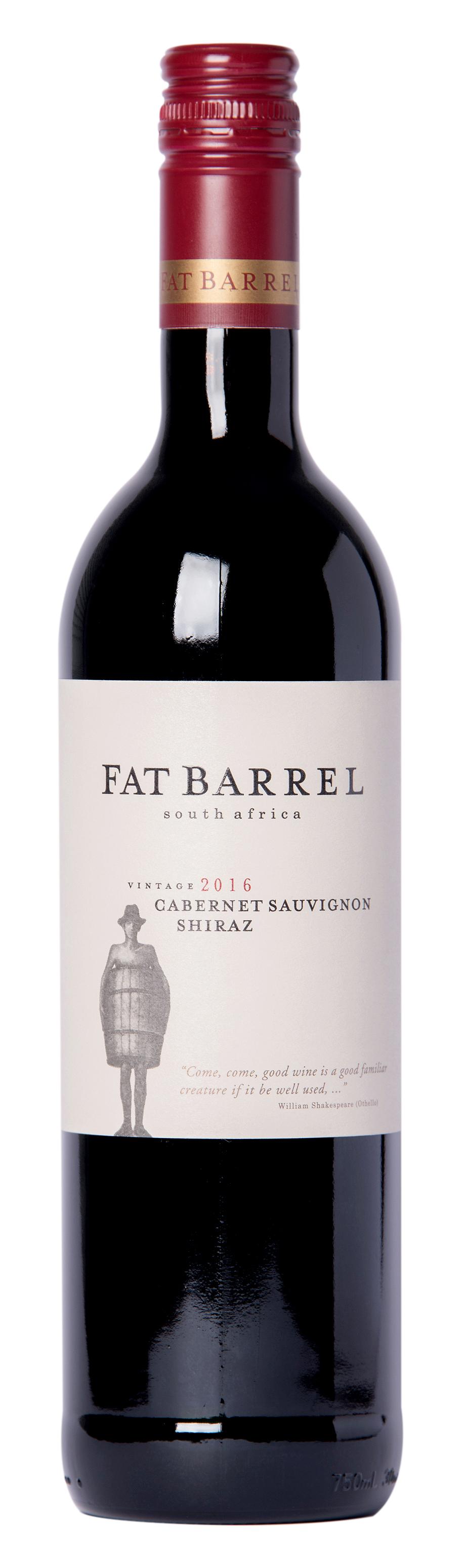 Fat Barrel Cabernet Sauvignon Shiraz 75cl