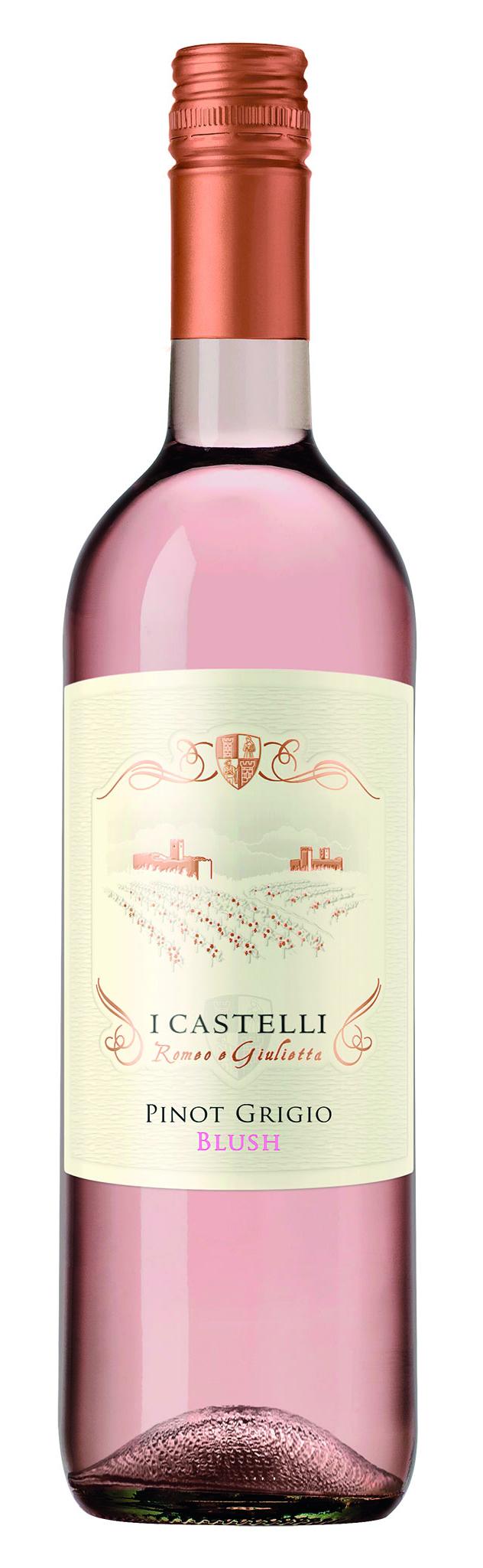 I Castelli Pinot Grigio Blush DOC 75cl