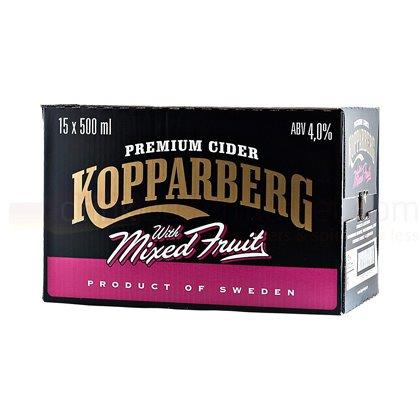 Kopparberg Premium Cider with Mixed Fruits