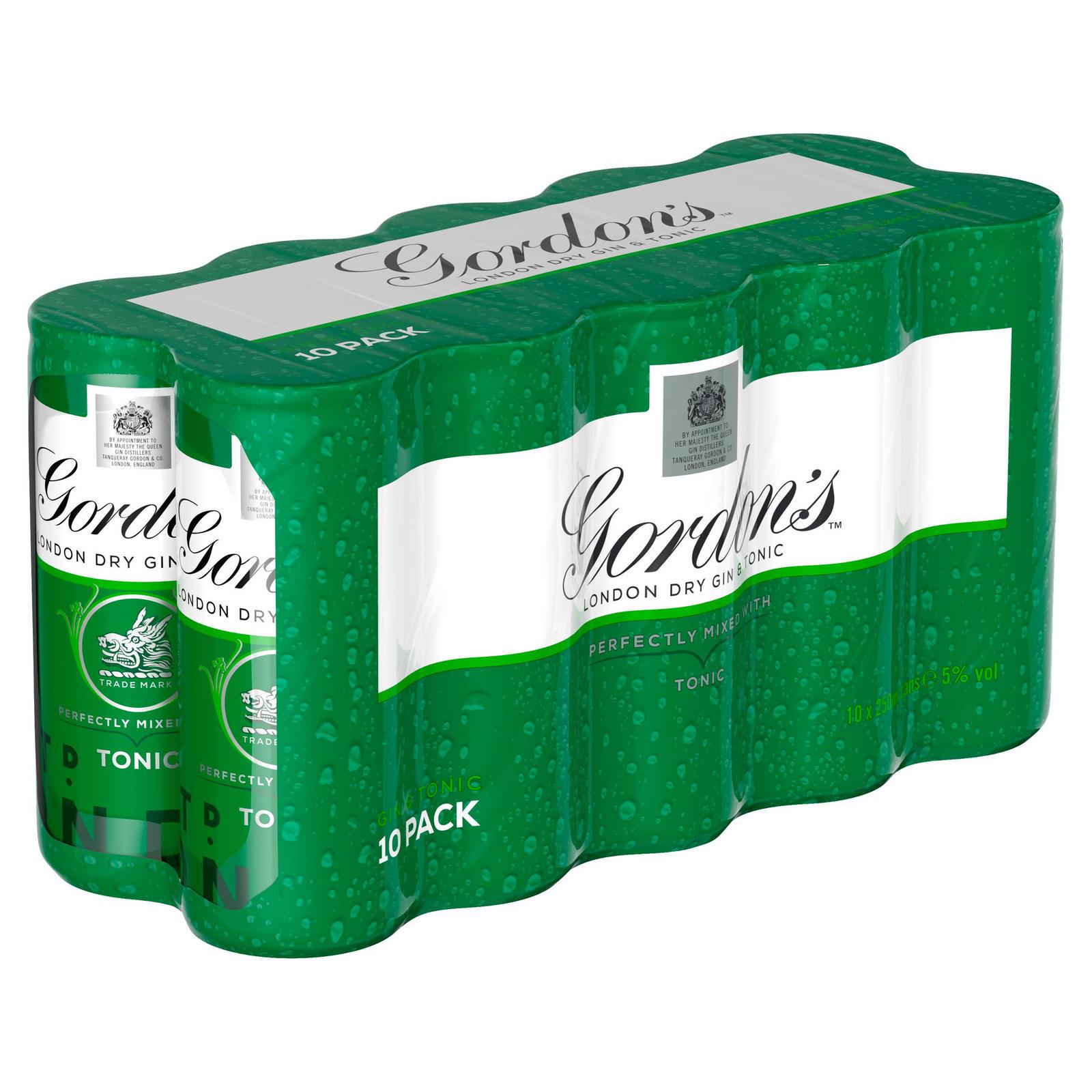 Gordons Gin & Tonic