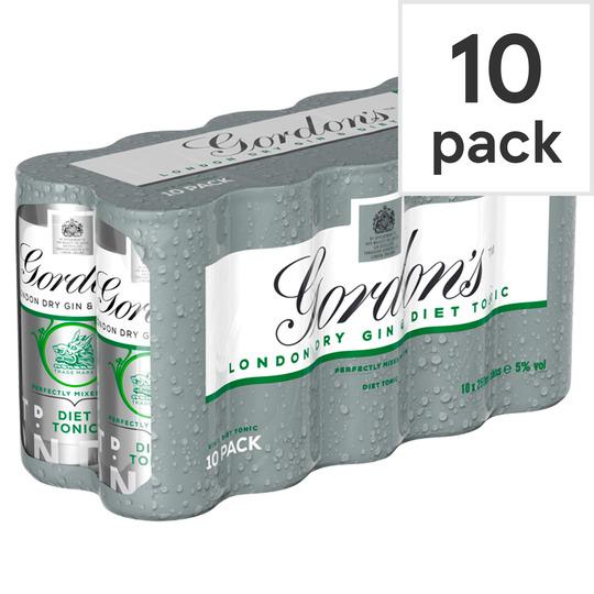 Gordons Slimline Gin & Tonic
