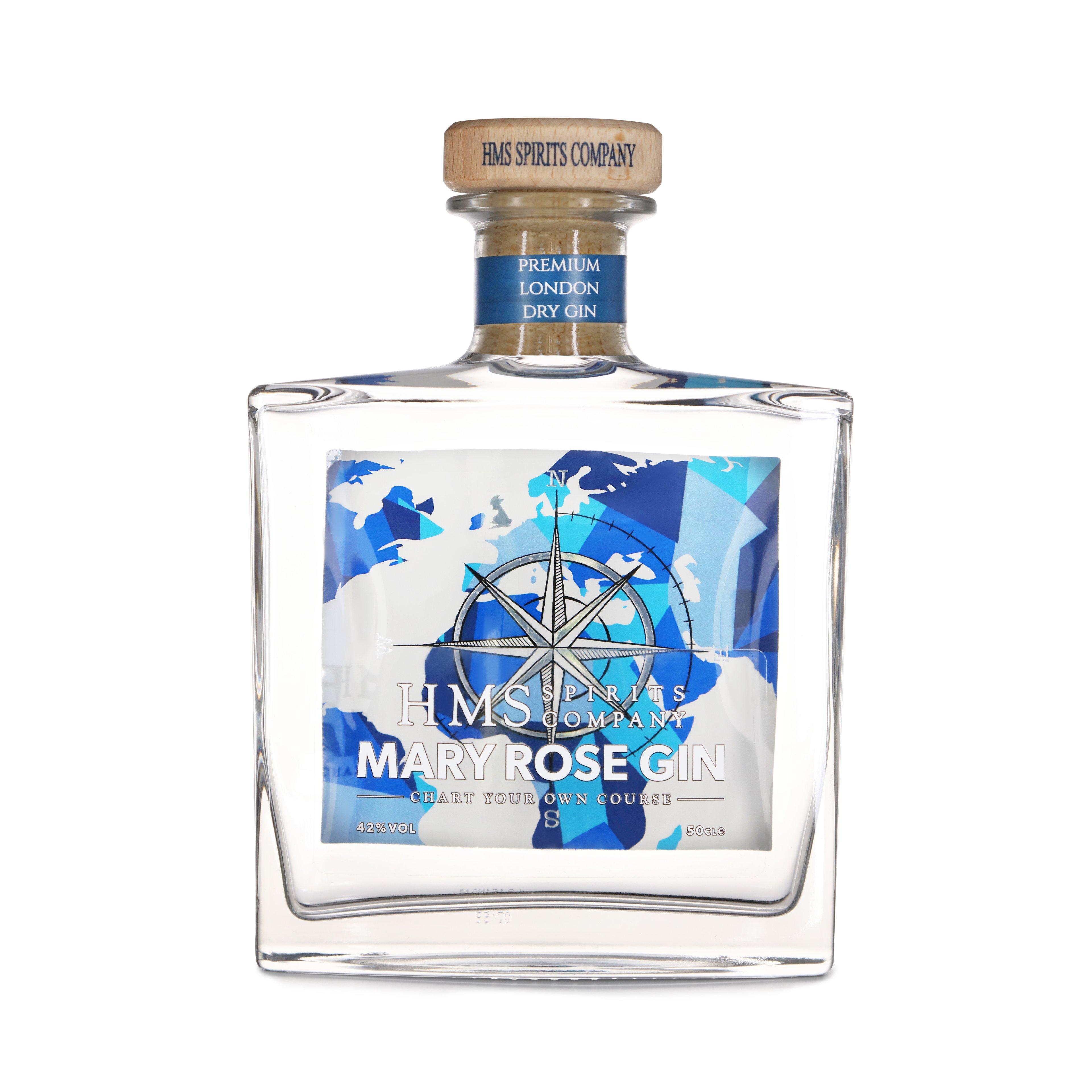 HMS Spirits Mary Rose Gin 50ml